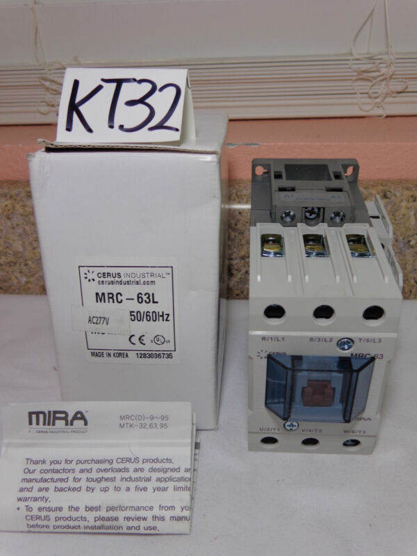 NEW CERUS INDUSTRIAL CONTACTOR MRC-63L