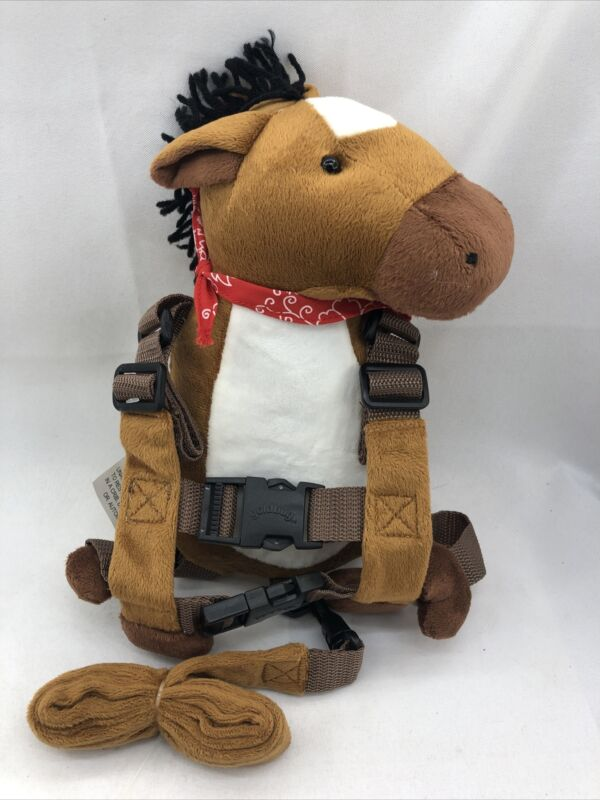 Gold Bug Travel Bug Toddler Character 2-in-1 Safety Harness - Cowboy Horse