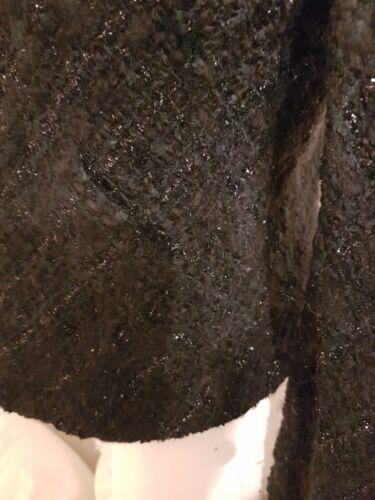 Ravissante veste agnes b facon tweed 42 soit 38 bon etat