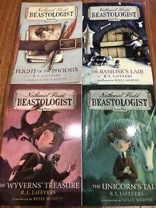 Beastologist book 1-4 by Nathaniel Fludd