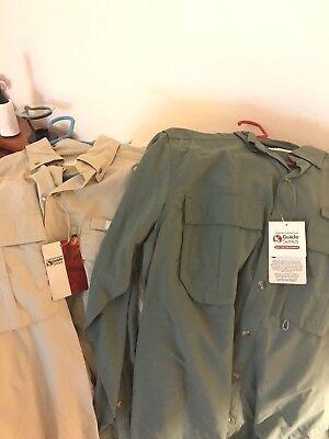 Gander Mountain Guide Series Shirt X2  Grey  Khaki
