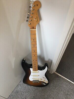 Fender Classic Player 50s Stratocaster with Hard Case and plek'd by chandlers!