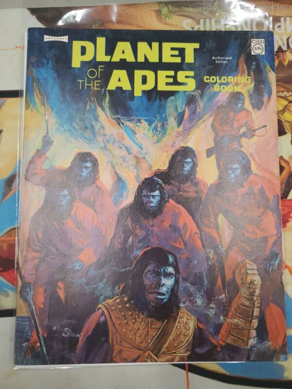 Artcraft - Planet of the Apes - Coloring Book - Clean - SAGC04