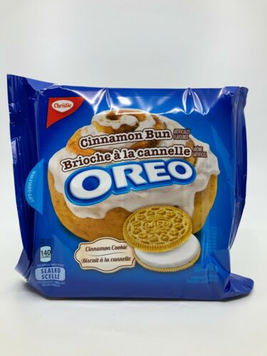 Oreo Cinnamon Bun Cookies (Canada) X 30 Bags - Free Shipping