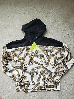 Versace jeans Baroque  hoodie  swetshirt  size L