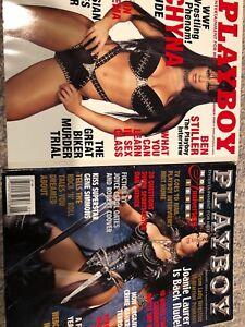 WWE Chyna magazines