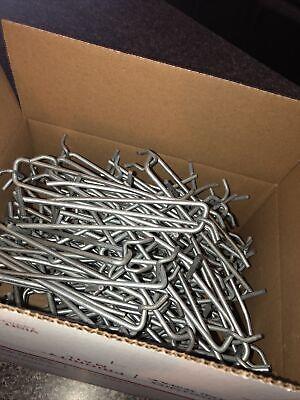 50 Pcs 6 Inch Pegboard Hooks For 14 Peg Board Heavy Duty New Big Metal Hook 6