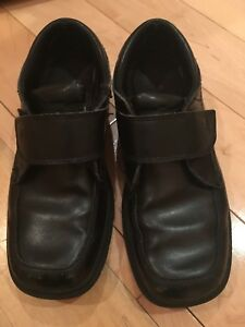 Boys Sperry Top Sider Leather Dress Shoes Size 2