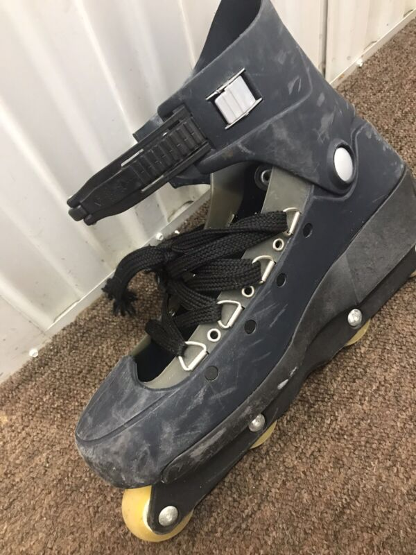 Roces Skates  Dark Gray US Size 13 Made In Italy