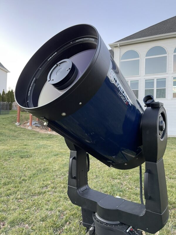 """Meade 14"""" LX200R (ACF) Telescope Delivery Possible Huge Package"""