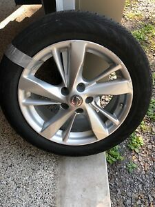 4 Nissan Altima Tires Mags and Sensors