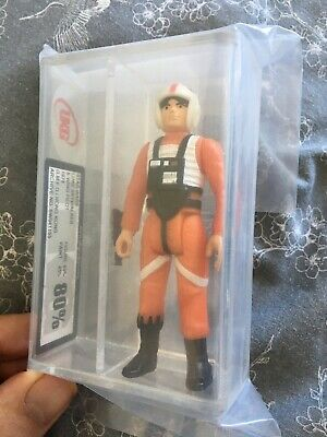 Vintage Star Wars Luke Skywalker X-Wing Pilot 1978 UKG Graded 80% (85% Subs)