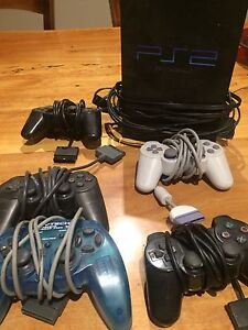 PlayStation 2 + 5x controllers Ashburton Boroondara Area Preview