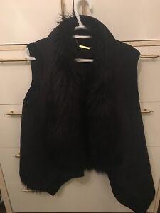Reversible Michael kors faux fur vest