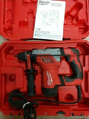 Milwaukee 1 18 Sds Plus Rotary Hammer Drill Kit Model 5268-21