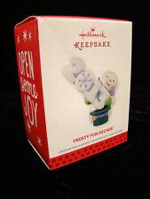 Hallmark Keepsake Christmas Ornament Frosty Fun Decade ...