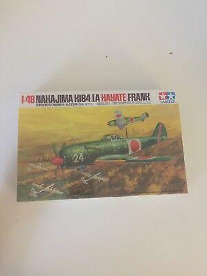Tamiya 1/48 Nakajima Ki-84-IA HayateFrank WWII Japanese Army Fighter seale
