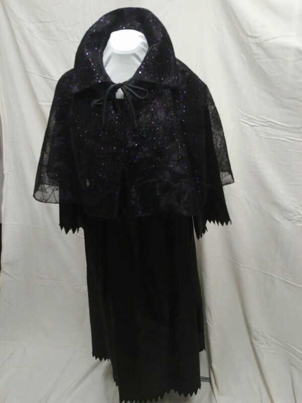 New Handmade Witch Costume Complete Size 12 - 16