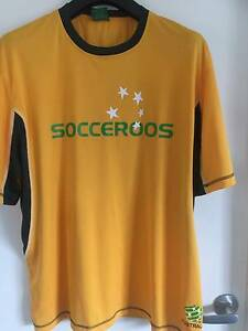 SOCCERROOS SUPPORTER TEE SIZE XXL 2009 Southside Gympie Area Preview