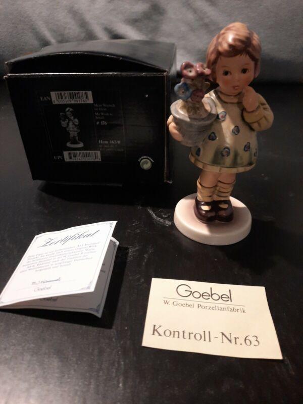 "GOEBEL - M.I. HUMMEL ""MY WISH IS SMALL"" #176 - EXCLUSIVE EDITION w/ORIGINAL BOX"