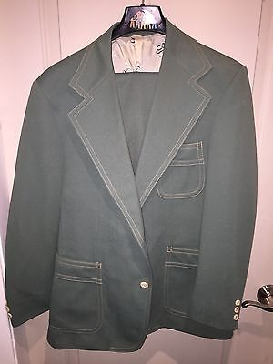 Vintage Retro 70s LEVIS PANATELA Disco Suit Jacket & Bell Bottom - Bell Bottom Suit