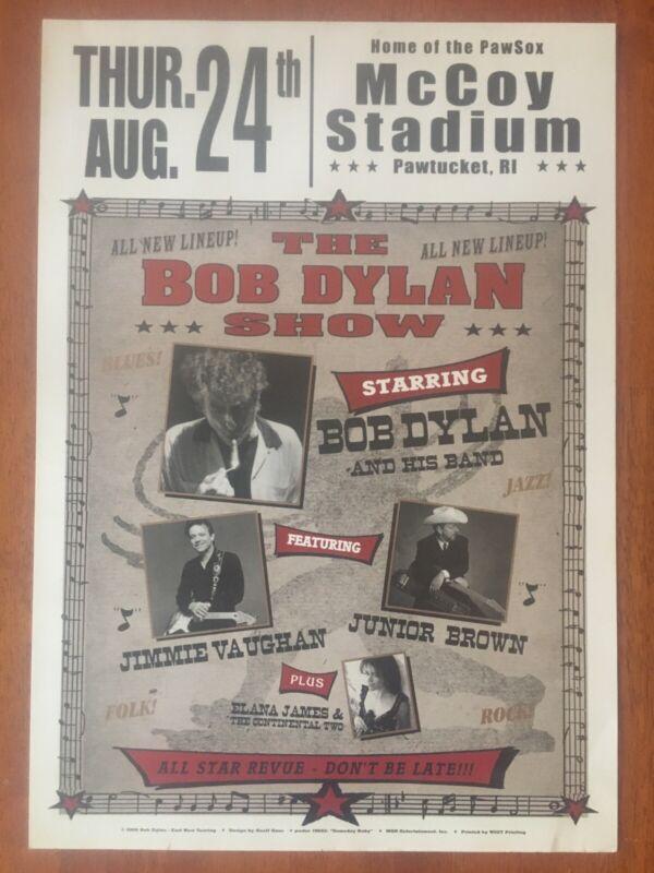 "2006 ""The Bob Dylan Show"" McCoy Stadium, All-Star Line Up, 20X14 - All-Star Cast"
