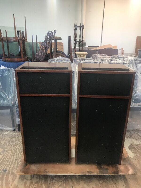 Pair of Vintage Bozak b-407 monitor c Speakers