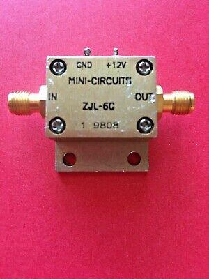 Mini-circuits Zjl-6g 20 To 6000 Mhz 6 Ghz Rf Broadband Coaxial Amplifier