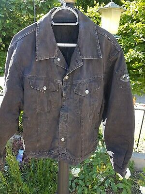 MENS VERSACE DESIGNER DENIM JACKET SIZE M