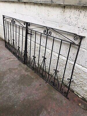 Pair Of Heavy Metal Gates Driveway. 240cm X 92cm Used.