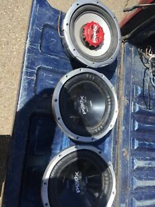 4 subwoofers need gone