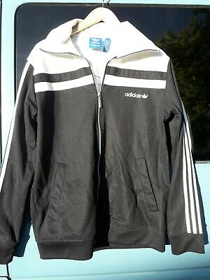 Adidas Jacket 3 Stripes Black And White