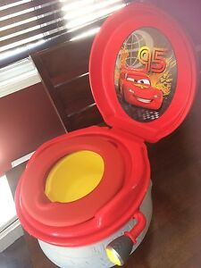Disney cars musical potty chair 3in 1