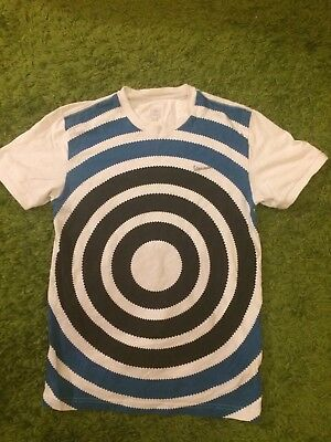 Ultra Rare ADIDAS X VESPA : MOD SKINHEAD T-SHIRT: UK SMALL
