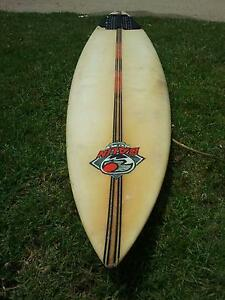 "VINTAGE BALIN 7'6"" LONG SURFBOARD Flinders Mornington Peninsula Preview"