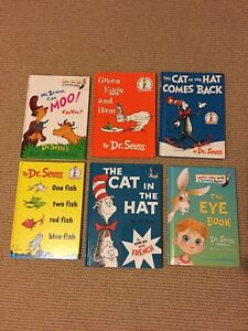 Dr. Seuss books for sale...
