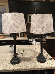 Two Lamps with Shades