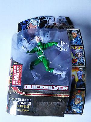Marvel Legends Blob Series Quicksilver Green BAF Figure NEW