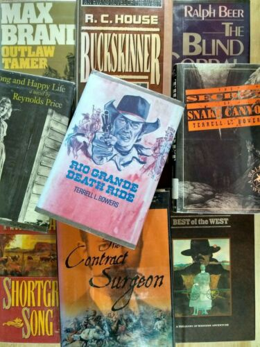 Lot of 9 Western, Cowboy, Best Of The West, Blind Corral, Max Brand, Outlaws,