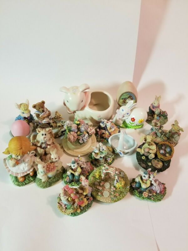 Easter Figurines Lot