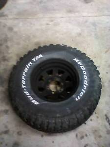 8 x 15 rim with 32x11.50R15 tyre Narraweena Manly Area Preview