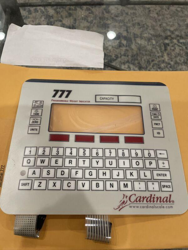 Cardinal 777 Digital Weight Indicator KEYPAD