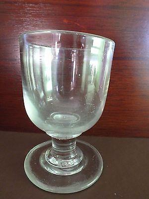 A GEORGIAN BLOWN GLASS RUMMER