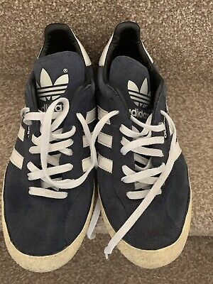 Lovely Adidas Samba Suede Trainers 9
