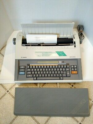 Canon Electronic Typewriterword Processor Mx300 - Excellent Condition W Cover