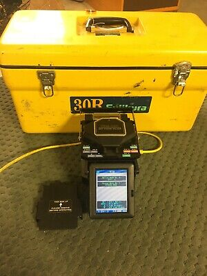 Fujikura Fsm-30r Arc Fusion Splicer Total Arc Count 2292