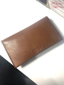 Coach Wallet with phone pouch