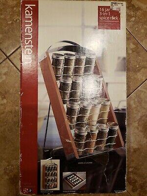 Kamenstein spice rack 16 Jar 3 In 1