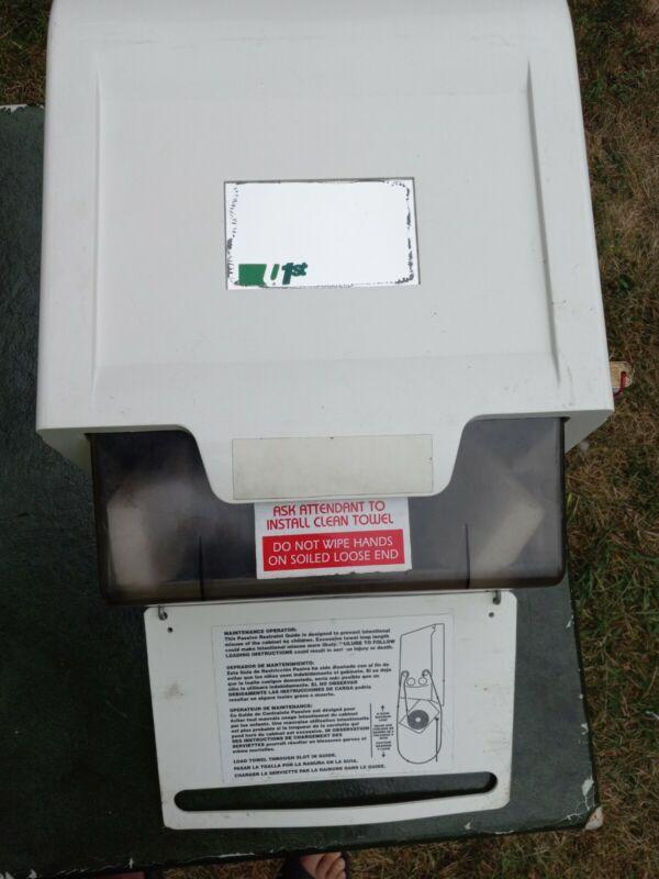 Darman U1st? Mfg. Co. Continuous Rotating Cloth Roll Towel Dispenser Cabinet