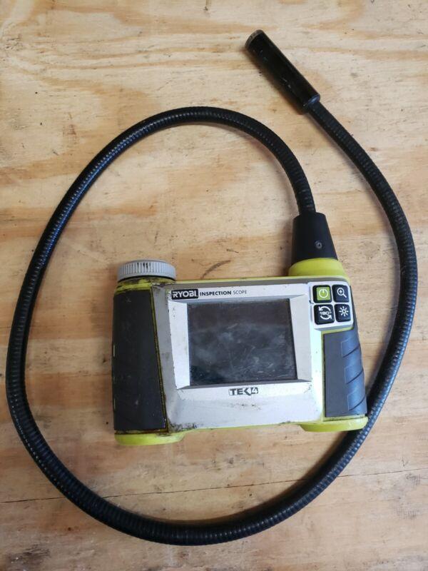 RYOBI RP4205 TEK4 4-Volt Digital Inspection Scope. As-is, no battery.